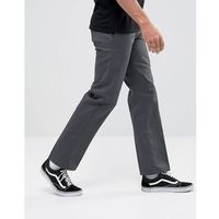 873 work pant chino in straight fit in grey - grey marki Dickies