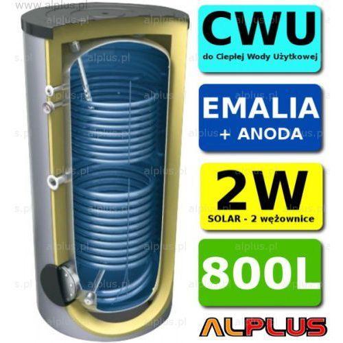 Lemet Zasobnik 800l 2xwęż 2w zbiornik bojler +anoda