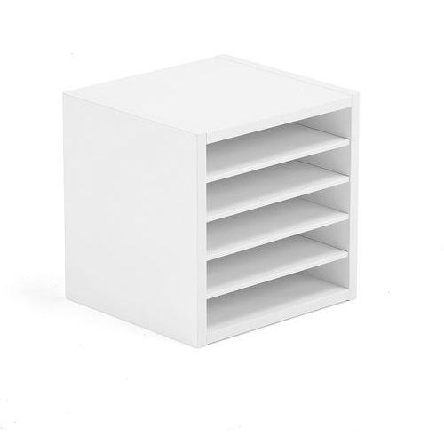 Wkład z przegrodami modulus, 5 przegród, biała marki Aj produkty