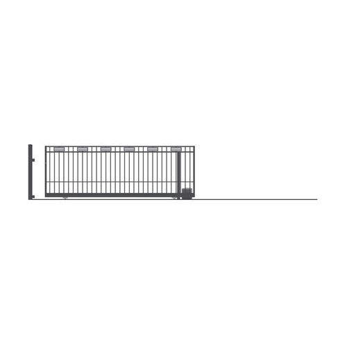 Brama przesuwna bez przeciwwagi argos 2 400 x 152 cm prawa marki Polargos