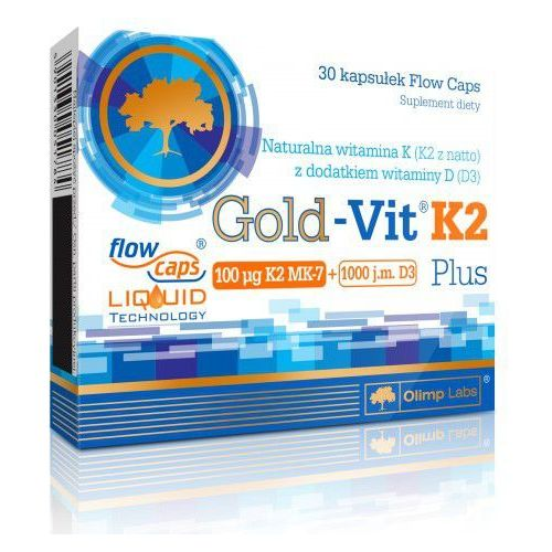 Gold-Vit® K2 Plus 30 kapsułek Olimp (artykuł z kategorii Witaminy i minerały)