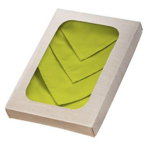 Dekoria Komplet serwetek 6szt. 42x42 jupiter zielone, 42x42