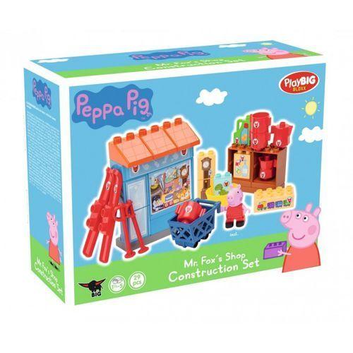PlayBIG Bloxx Peppa Sklep Pana Lisa, 29 elementów
