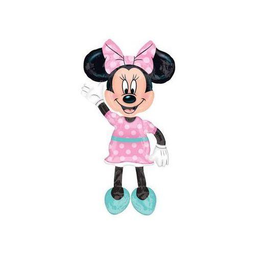Chodzący balon foliowy Myszka Minnie - 96 x 137 cm