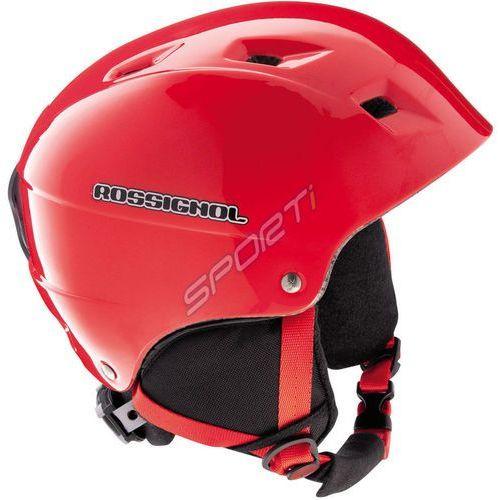 7beed4c4366f Rossignol Kask comp j red rk2h506 młodzieżowy - czerwony (3607681326930)