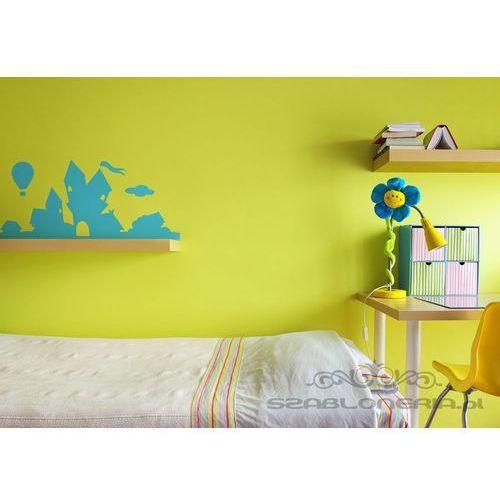 Naklejka dla dzieci - zamek, wzór powtarzalny w poziomie marki Szabloneria