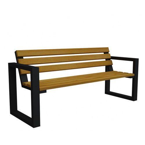 Producent: elior Ławka ogrodowa norin black 180cm - 8 kolorów