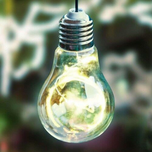 Solarna lampa wisząca LED 48514 kształt żarówki, 24463659589