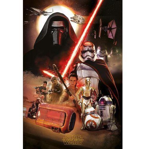 Star Wars Gwiezdne Wojny Przebudzenie Mocy Kolaż - plakat