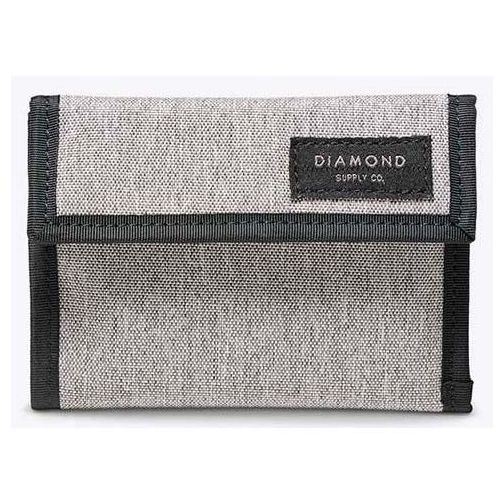 portfel DIAMOND - Stone Cut Folding Heather Grey (HTGR) rozmiar: OS