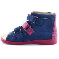 Dziecięce buty profilaktyczne 1041 - różowy ||śliwkowy marki Dawid