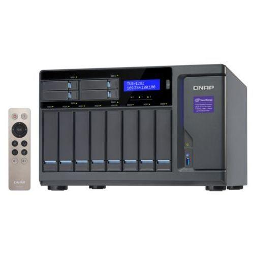 Serwer NAS QNAP TVS-1282-i5-16G, Intel® Core™ i5-6500 3.6 GHz Quad core processor, RAM 16GB DDR4 (Max. 32GB)