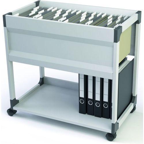 Wózek na teczki zawieszkowe DURABLE SYSTEM FILE TROLLEY 90 - X06005, NB-5564