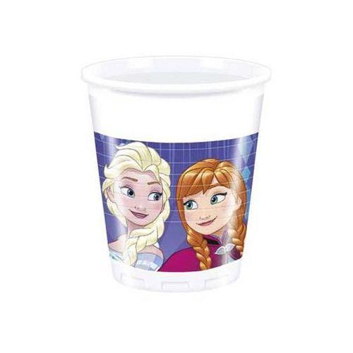 Kubeczki urodzinowe frozen - kraina lodu - 200 ml - 8 szt. marki Procos disney