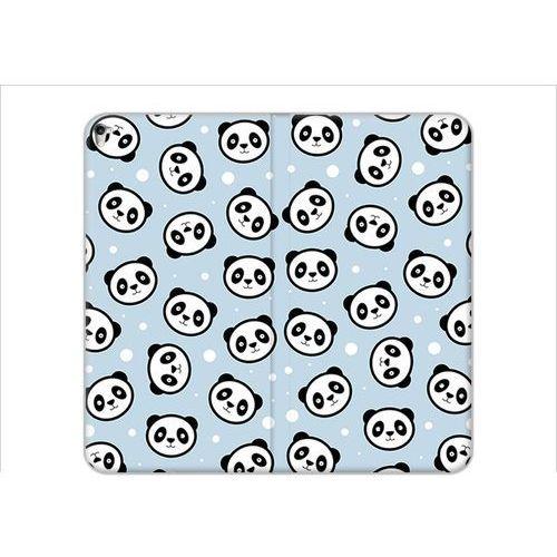 Apple iPad Pro 9.7 - etui na tablet Flex Book Fantastic - panda na niebieskim tle, kolor niebieski