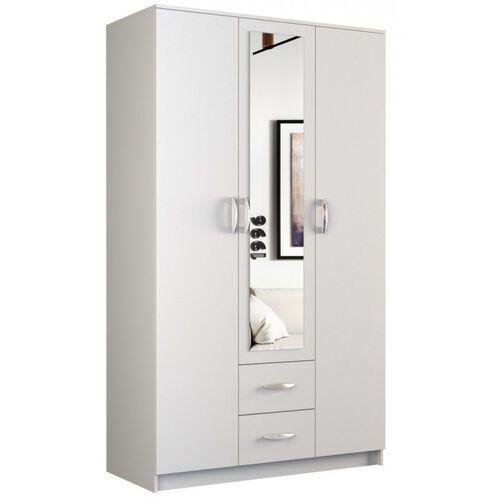 Tes Szafa walter z lustrem 120 cm / biała (5902838465929)