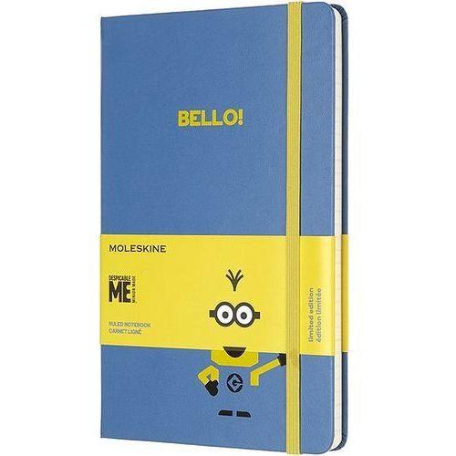 Moleskine Notes minionki l edycja limitowana niebieski