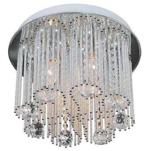 Mlamp Lampa sufitowa ac5116/4c glamour oprawa sople led 2,16w plafon z kryształkami chrom przezroczysty (1000000366501)
