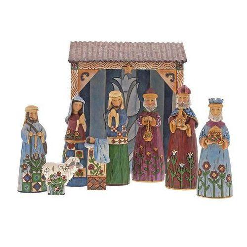 Szopka 9 figur folklore nativity nine piece set 6001441 figurka ozdoba świąteczna marki Jim shore