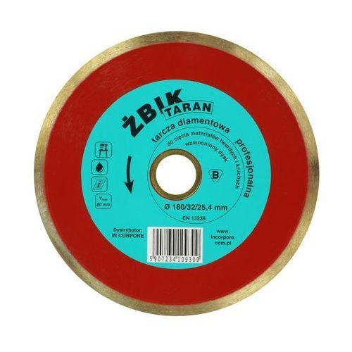 TARCZA DIAMENTOWA ŻBIK TARAN DO GRESU / CERAMIKI 180 x 32/25,4mm /IN CORPORE (5907234109309)