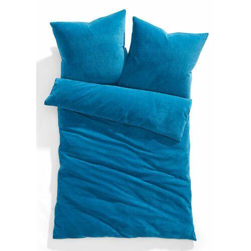 """Pościel """"cashmere touch"""" niebieskozielony morski marki Bonprix"""