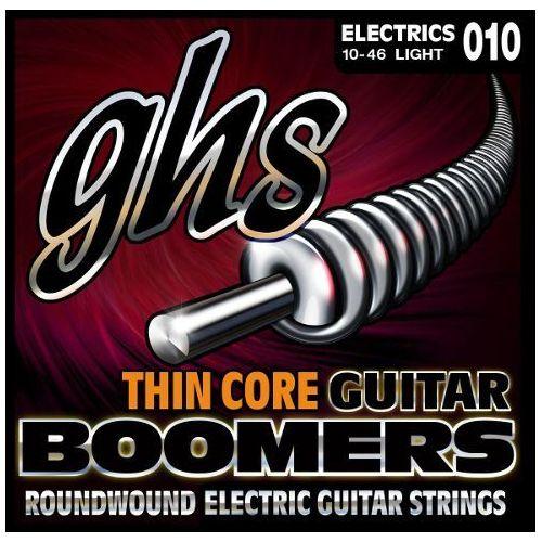 thin core guitar boomers struny do gitary elektrycznej, light,.010-.046 marki Ghs