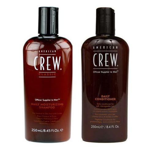 American Crew Classic Daily Moisturizing   Zestaw do włosów dla mężczyzn: szampon 250ml + odżywka 250ml