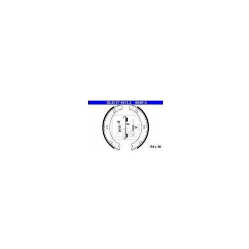ATE Zesatw szczęk hamulcowych, hamulec postojowy - 03.0137-4013 z kategorii Szczęki hamulcowe