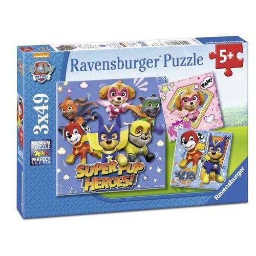 Ravensburger Puzzle 3x49el Psi Patrol 080366 - 4005556080366- natychmiastowa wysyłka, ponad 4000 punktów odbioru! (4005556080366)
