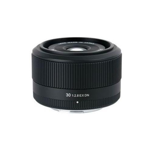 30 mm 2.8 ex dn pro obiektyw z filtrem mocowanie micro 4/3 marki Sigma