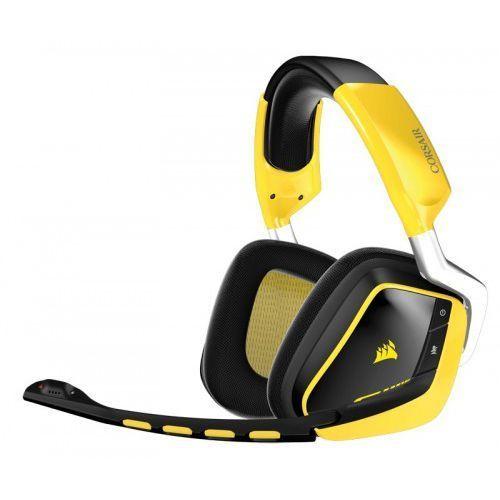 Corsair Corsair Gaming Headset VOID RGB Wireless Dolby 7.1 Special Edition Yellowjacket Darmowy transport od 99 zł | Ponad 200 sklepów stacjonarnych | Okazje dnia!