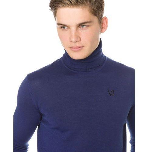 sweter niebieski xl marki Versace jeans