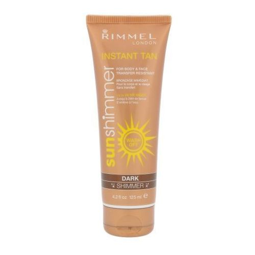 Rimmel London Sun Shimmer Instant Tan 125ml W Opalanie Dark Shimmer
