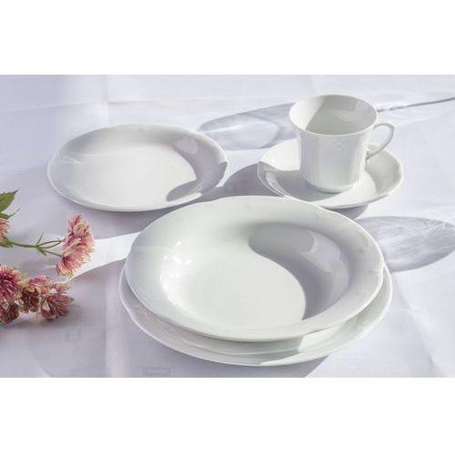 Chodzież biała kamelia serwis obiadowy i kawowy 30/6 c000 marki Chodzież / kamelia