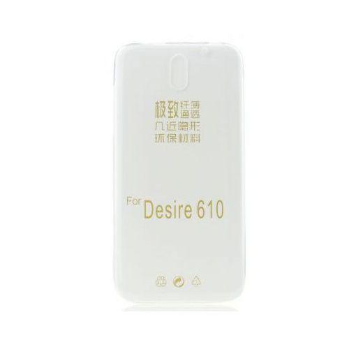 Bluestar Back case 0,3mm - htc desire 610 transparentny