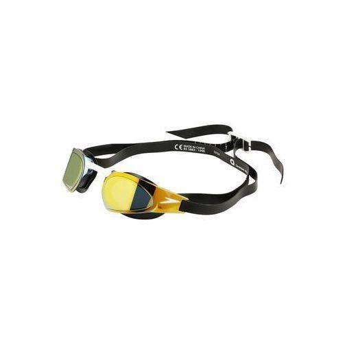 speedo Fastskin Prime Mirror Okulary pływackie czerwony/czarny Okulary do pływania