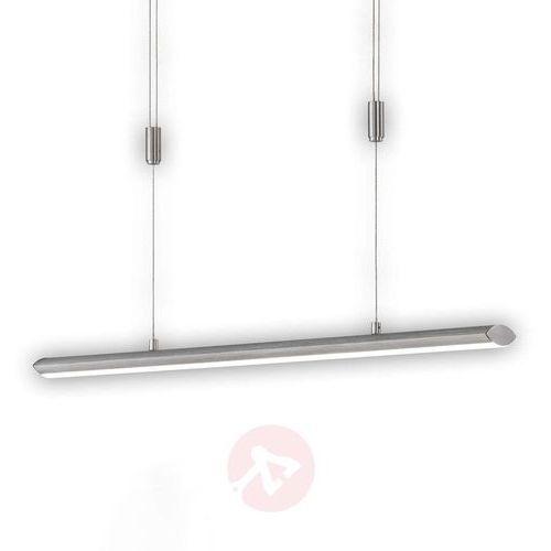 Honsel beat lampa wisząca led aluminium, 1-punktowy - nowoczesny - obszar wewnętrzny - beat - czas dostawy: od 6-10 dni roboczych (4001133694711)