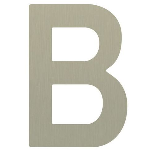 Litera B samoprzylepna 50 mm inox (5905367001064)