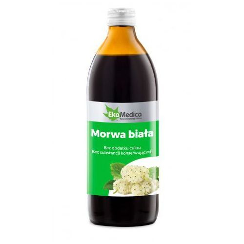 Morwa biała sok (500 ml) EkaMedica (5902596671679)