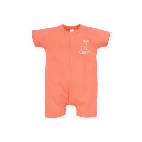 Rampers niemowlęcy pomarańczowy 5r38af marki Pinokio