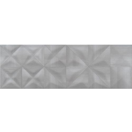 Opoczno Delicate lines graphite glossy struct.25×75 gat ii