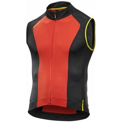 Męska koszulka cosmic elite sl jersey fiery red rozmiar m marki Mavic