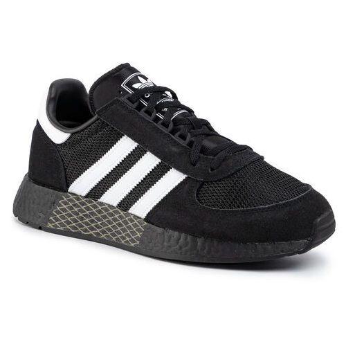 Adidas Buty - marathon tech ee4923 cblack/ftwwht/tracar