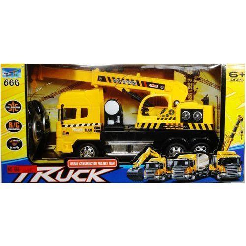 Zabawka SWEDE Ciężarówka dźwig sterowana pilotem Q2033