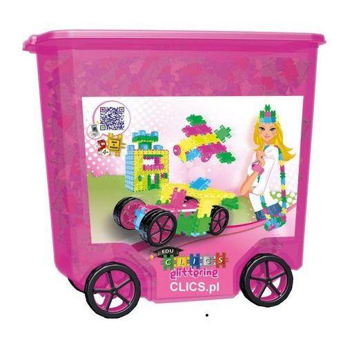Klocki Clics 800 Rollerbox Gittler Pink