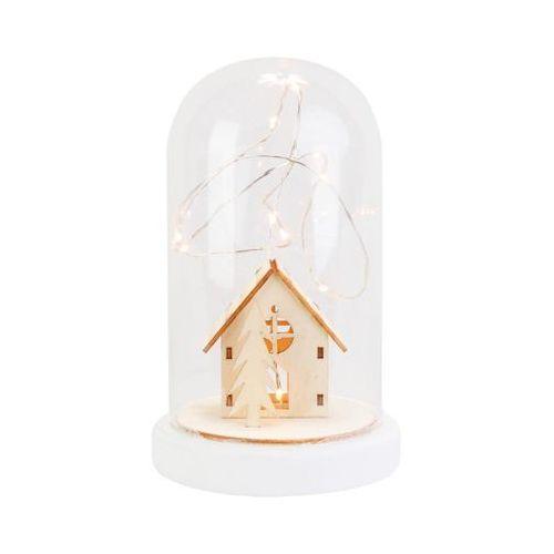 Kościół w szkle 19.5 x 12 cm z oświetleniem LED (5901907050028)