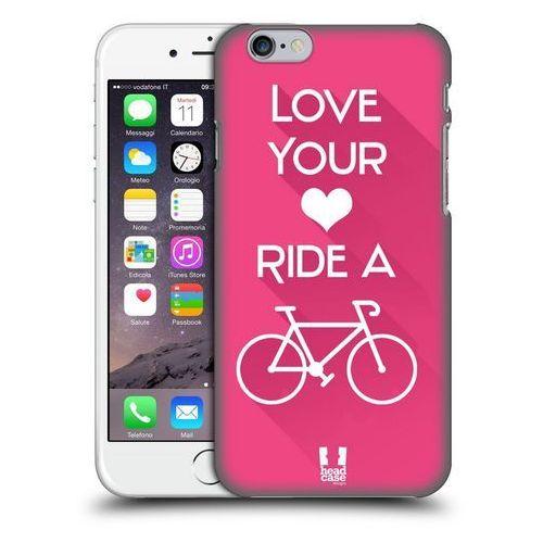 Etui plastikowe na telefon - workout inspirations pink bike wyprodukowany przez Head case