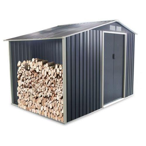 Altana ogrodowa z galwanizowanej stali w kolorze szarym AGATO 6,53 m2