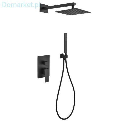 Kompletny zestaw podtynkowy czarny easybox sb231 marki Swissliniger