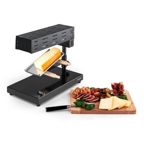 Klarstein appenzell 2g tradycyjny zestaw grill raclette 600 w stojący czarny (4260457485522)